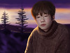 Jeong Sewoon : Procreate drawing (Rey.M) Tags: procreate ipad ipadpro ipadpro97 applepencil drawing painting sunset jeongsewoon kpop winter snow knit knitted knittedjacket