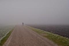 A journey into the unknown (Bastian_Schmidt) Tags: art kunst life future leben zukunft laufen sport run sports fog nebel nebelig unknown unbekannt nikon d610 nikkor 50mm 18
