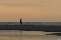 Silhouette solitaire (Rosca75) Tags: colombia colombie people lifestylephotography beach sea seaside ocean oceanside