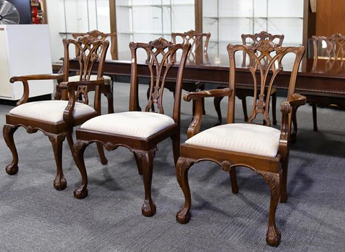 Lexington Chippendale Chairs ($448.00) and Lexington Chippendale Table ($448.00)