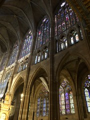 León Windows (BiggestWoo) Tags: españa espana spain leon león cathedral windows window glass stained