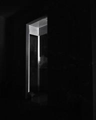 Noir (richardserra63) Tags: door doorway night highcontrast study home lx5 panasonic conceptual