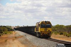 18 November 2017 ACN4150 rear DPU 7763 loaded ore South of Dean (RailWA) Tags: railwa philmelling aurizon midwest acn4150 rear dpu 7763 loaded ore south dean