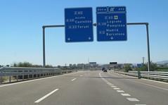 A-23-94 (European Roads) Tags: a23 huesca zuera zaragoza españa aragón spain autovía