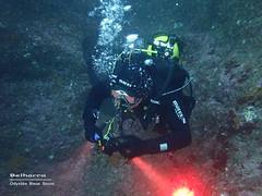 Belharra Marine Cave (YellowSingle 单黄) Tags: belharra marine cave cavern exploration diving scuba socoa atlantic olympus tg4