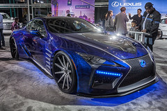 Black Panther Inspired Lexus LC (ccmonty) Tags: 2017laautoshow blackpanther conventioncenter dtla laautoshow laas lexus lexuslc500 losangeles losangelesconventioncenter autoshow automobile car cars downtownlosangeles vehicle california unitedstates