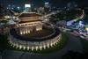 Heunginjimun Gate, Seoul, South Korea (Brandon Kopp) Tags: 1635mm architecture d750 night nikon southkorea history lighttrails seoul heunginjimun gate joseon dynasty 동대문