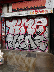 Time / Pleaz (Alex Ellison) Tags: time osv pleaz eastlondon urban graffiti graff boobs