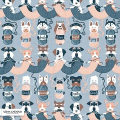 (Selma CC) Tags: spoonflowered spoonflower spoonflowerde spoonflowerpicit spoonflowerfabrics spoonflowerfabric roostery sproutpatterns sewists sewing sewcialists surfacedesign spoonflowermakers makers illustration illustrations fabric patternobserver textiledesign printandpattern surfacepattern pattern patterndesign surfacepatterndesign dog dogs dogsofinstagram doglover doglife