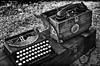 _02Z4012 (zalo_astur) Tags: maquina escribir radio telefono recreacion guerracivil candamo grullos asturias asturies contienda historia k5 pentax emisora frecuencia comunicacion comunicaciones ejercito militar equipo