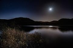 Ullswater at Night (Explored...) (Joe Hayhurst) Tags: afternoon autumn cumbria england fall goldenhour hike hiking lakedistrct landscape october sunset walking ullswater night stars moon lake water