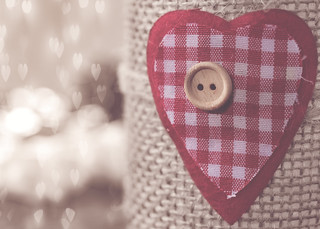 Love is like a button, it holds everything together.
