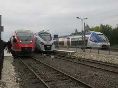 DB 643 514 & SNCF 83563 + 76572 Gare de Wissembourg (Polaroyd7) Tags: wissembourg wissemburg alsace elzas frankrijk france frankreich sncf db trein zug bahn train grens border grenze strasbourg straatsburg strasburg haguenau winden neustadt