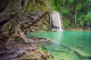 'Nam Plao' - Erawan Falls, Thailand