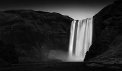 The Falls (TS446Photo) Tags: iceland nikon winter mono monochrome monomonday longexposure landscape fineart