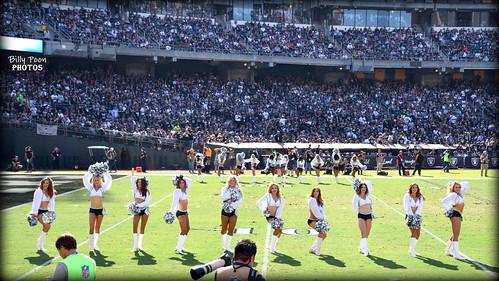 2017 Oakland Raiderettes @ the Coliseum