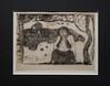 Suite de l'exposition Gauguin au Grand palais : Misères Humaines (souvenirs de Bretagne ) (mfdudu) Tags: gauguin gravure grandpalais