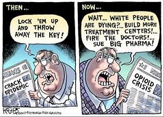 Opioid News (DES Daughter) Tags: opioids drugs cartoon bigpharma