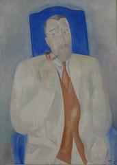 """""""Portrait de Paul Poiret"""", 1915, André Derain (1880-1954), Musée de Grenoble, Grenoble, Rhône-Alpes-Auvergne, France. (byb64) Tags: muséedegrenoble musée museo museum grenoble isère 38 rhônealpes dauphiné france frankreich francia europe europa eu ue xxe 20th peinture painting dipinto cuadro tableau derain andréderain portraitdepaulpoiret paulpoiret portrait porträt retrato ritratto homme man uomo hombre mann"""