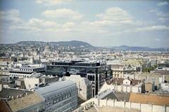 The view from St. Stephen's Basilica. Budapest. (floripondiaa) Tags: budapest hungary florishootsfilm fujica stx1 film 35mm