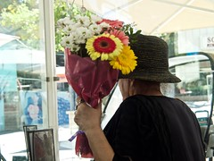 flower woman (Mark Ittleman) Tags: isolation flowers flower woman
