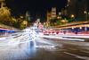 Gran Vía Madrid - Puerta de Alcalá (Dani DSC) Tags: madrid gran via alcala long exposure larga exposicion coches estelas cars nikon cibeles noche night city town dark life rush traffic sigma