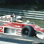 Jochen Mass with McLaren M23 thumbnail