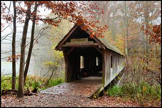 Autumn at the Covered Bridge