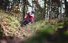 Tom Klitscher 2 (MichaelBmxking) Tags: canon eos 5d mk mark iii 3 5dmk 5dmark 5dmk3 5dmkiii 5dmarkiii 5dmark3 available light sun sunny clouds cloudy day bike mtb mountainbike freeride downhill woods berlin germany teufelsberg grunewald trails ride hill portrait male man boy trees green grass skyline adobe lightroom helmet outdoor wide wideangle wood flash hss typ f18 85mm smoke colour color rauch elinchrom quadra elb elb400 skyport skyporths