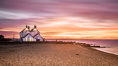 Whitstable sunset! (Nathan J Hammonds) Tags: old neptune pub whitstable kent uk beach coast sea sunset sky long exposure hdr nikon d750 10stop nd filter movement dusk winter