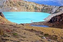 Crater Lake (tez-guitar) Tags: lake water mountain peak peaks highland volcano pentax pentaxart gumma