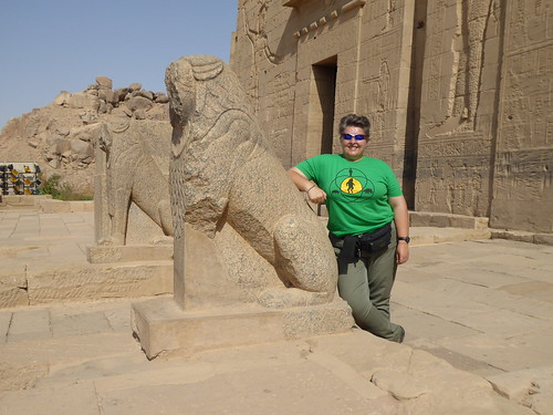 Lions, Temple of Isis, Philae