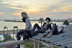 On the roof (Vlastelin Nichego) Tags: dolls abjd bjd kanadoll kana adrian mars mars№5 dollshe bernard