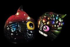 Chaos Slime / Chaos Ball. (Nicholas Fung) Tags: sofvi made japan japanese soft vinyl toys sofubi vinyltoy realxhead realhead real head dcon 2017 designercon rxh chaos slime chaosman softvinyl sofuvi japanesetoys toypizza vinyltoys ソフビ