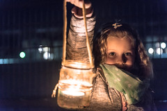 Lantern Festival (em-si) Tags: villach kärnten austria österreich lanternfestival laternenfest night nacht bokeh lantern laterne girl iso3200 nikond800 nikon247028 portrait noise rauschen