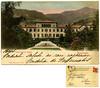Roncegno, stabilimento bagni. Luigi Marsoner, Trento. Spedita nel 1909 (Ecomuseo Valsugana | Croxarie) Tags: roncegno roncegnoterme cartolina 1909 terme bagni