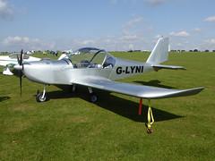 G-LYNI Aerotechnik EV-97A Eurostar cn PFA 315-14409 Sywell 02Sep17 (kerrydavidtaylor) Tags: orm egbk sywellaerodrome evektoraerotechnik eurostar