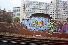 Cosa Robbo RIP - Battersea Park (GRAFFLIX (grafflix.co.uk)) Tags: graff graffiti cos cosa dtb gs dds robbo wrh