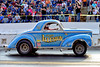 The Grand Illusion Willys Gasser (Thumpr455) Tags: southeastgassers finals shadysidedragway shelby nc october 2017 nikon d800 autoracing motorracing auto automobile worldcars action sport speed grandillusion quainstott earl willys gasser blue lace wheels crowd agasser agas afnikkor70200mmf28vrii ag mags