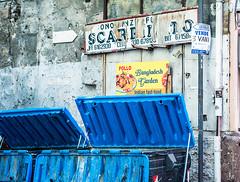 20171028-244 (sulamith.sallmann) Tags: sprache zeichen blau blue garbage italia italien italienisch italy müll müllcontainer mülltonne palermo signs sizilien symbol typo it