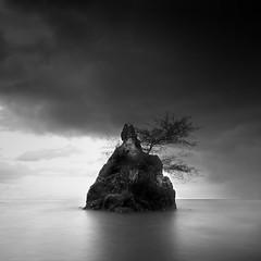 Rock-Island (pattana92392) Tags: seawave sea longexposure coast water fineart stone blackwhite