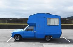 1981 Toyota Hilux (stephen trinder) Tags: stephentrinder stephentrinderphotography aotearoa kiwi landscape newzealand nz greymouth godzone westcoast blue ute utility custom camper campervan 1981 toyota hilux