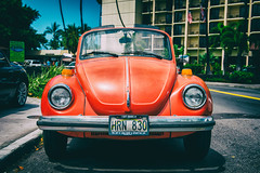 I Got Crabs (John Willoughby) Tags: kailuakona hawaii unitedstates us vw beetle bigisland convertible