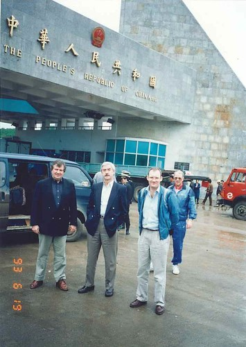 At Chinese Border