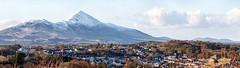 Westport in Winter (mickreynolds) Tags: westport mayo ireland snow wildatlanticway 2017 samyang nx500 panoramic croagh patrick
