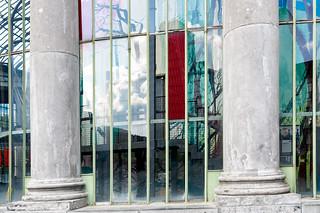 Brussels urbanization seen through historic windows