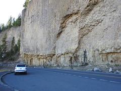 Yellowstone NP, The Narrows near Tower Fall DSCN1324 (ianw1951) Tags: columnarjointing geology usa volcanicash volcanicrocks wyoming yellowstonenationalpark