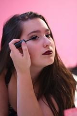 Mascara (JoãoGuerreiro666) Tags: mascara eyes olhos yeux beauty beauté beleza model modèle modelo bruna joão guerreiro joãoguerreiro666 grevels luxembourg luxemburgo 400d eos canon makeup maquiller maquilhagem woman famme mulher