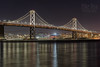 Bay Bridge (mikeSF_) Tags: sanfrancisco california bay baybridge bridge night nightscape cityscape city pacificocean att park longexposure outdoor treasureisland yerbabuena south beach giants pentax 645 645z m300 67 skyline skyscraper