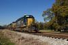 CSX V310 at N Kingston (travisnewman100) Tags: csx grain unit train railroad freight wa subdivision atlanta division kingston georgia v310 emd ge sd402 es40dc ac44cw siding